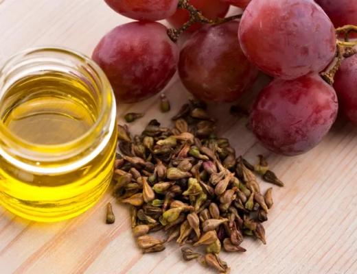 bienfaits de l'huile de pépins de raisin
